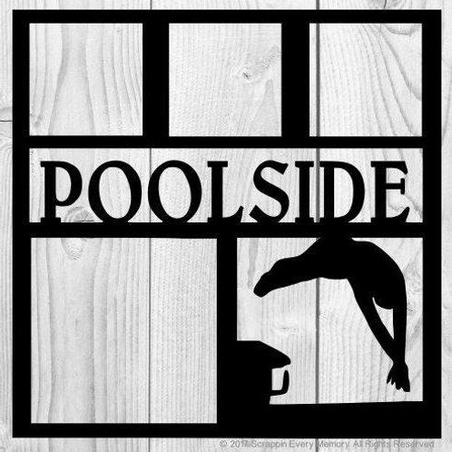 Poolside Scrapbook Overlay