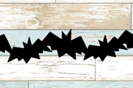 Bats Scrapbook Border
