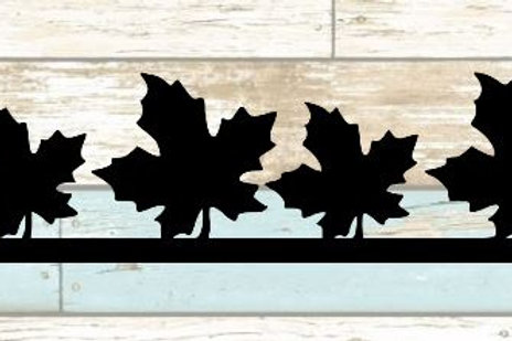 Leaf Scrapbook Border