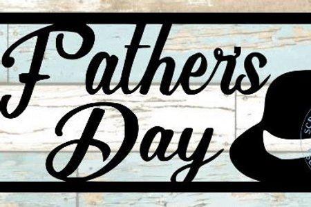 Father's Day Scrapbook Title