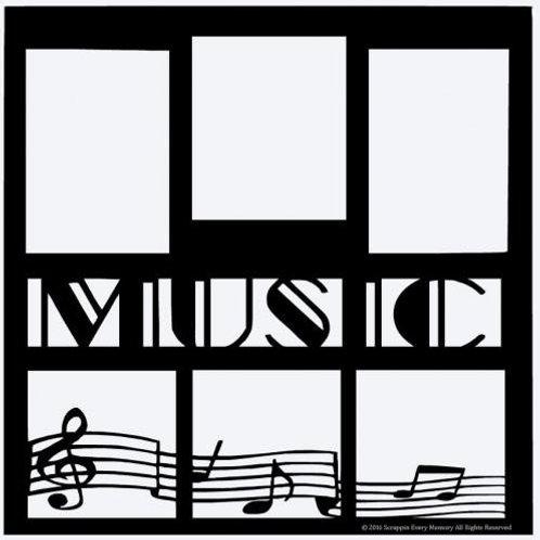 Music Scrapbook Overlay