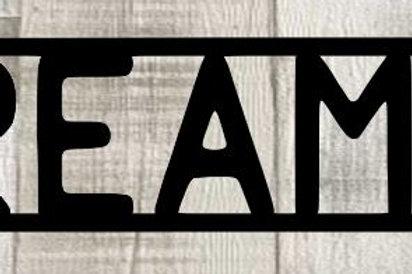 Dreamer Scrapbook Page Title Single