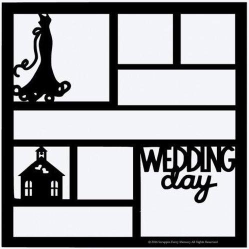 Wedding Day Scrapbook Overlay