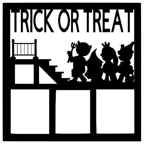 Trick Or Treat Scrapbook Overlay