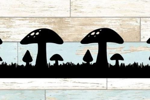 Mushrooms Scrapbook Border