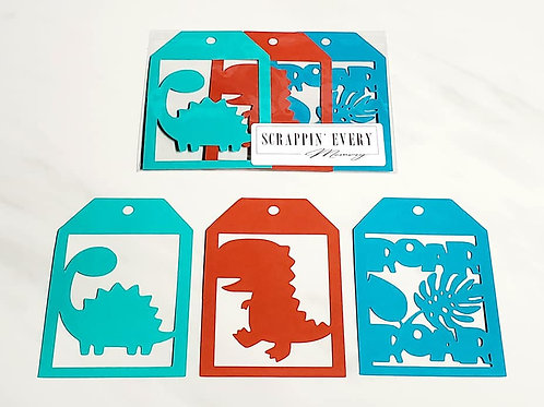 Dinosaurs Deluxe Word Tags