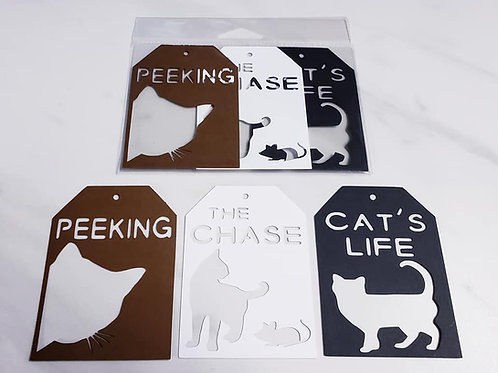 Cat Deluxe Word Tags