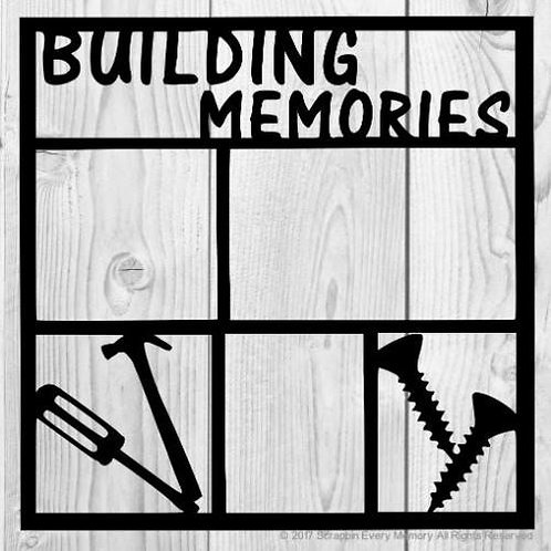 Building Memories Scrapbook Overlay