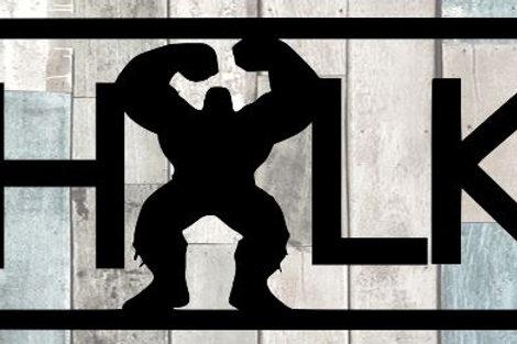 Hulk Scrapbook Title