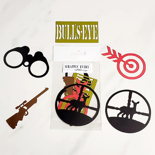 Hunting Die Cut Silhouette Mini Set