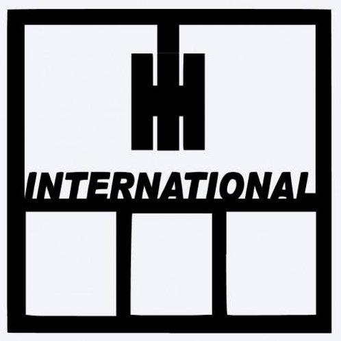 International Scrapbook Overlay