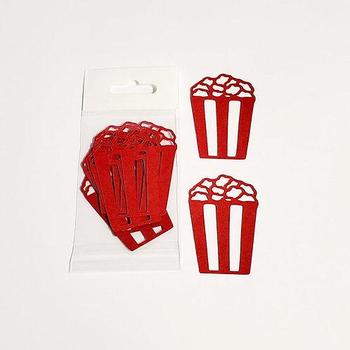 Popcorn Itsy Bitsy Embellishments