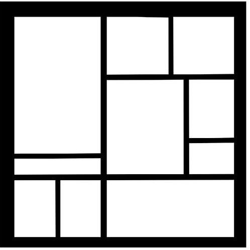 Frame 212 Scrapbook Overlay