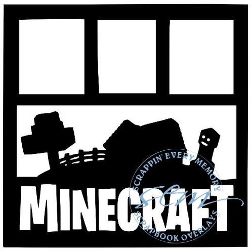 Minecraft Scrapbook Overlay