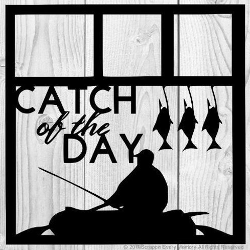 Catch Of The Day Scrapbook Overlay