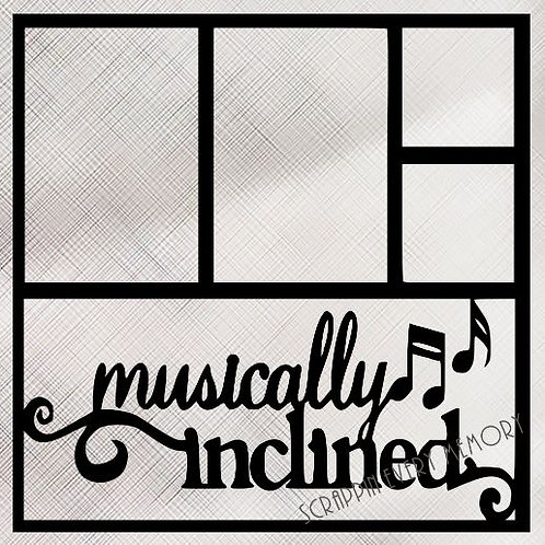 Musically Inclined Scrapbook Overlay