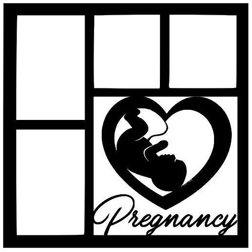 Pregnancy Scrapbook Overlay