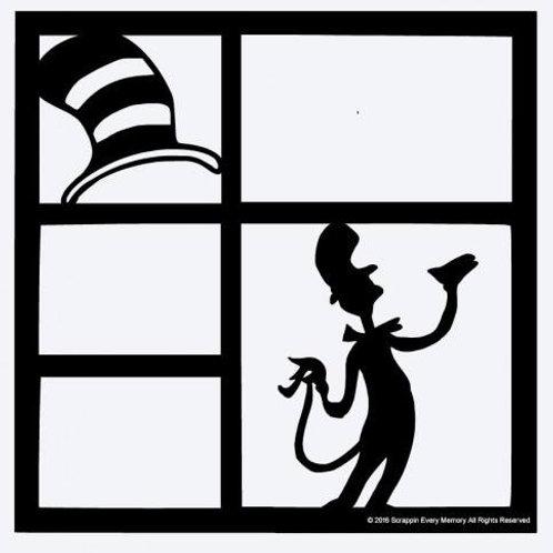 Seuss Scrapbook Overlay