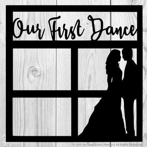 Our First Dance Scrapbook Overlay