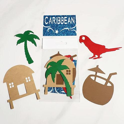 Caribbean Die Cut Silhouette Mini Set