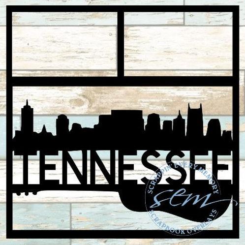 Tennessee Scrapbook Overlay