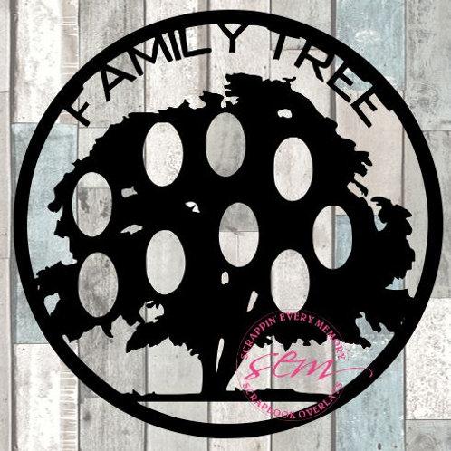 Family Tree Scrapbook Overlay