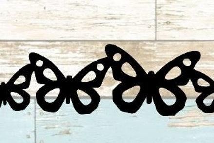 Butterflies Scrapbook Border