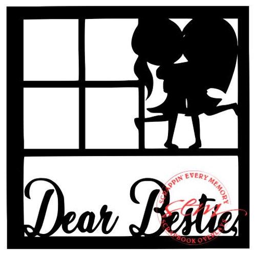Dear Bestie Scrapbook Overlay