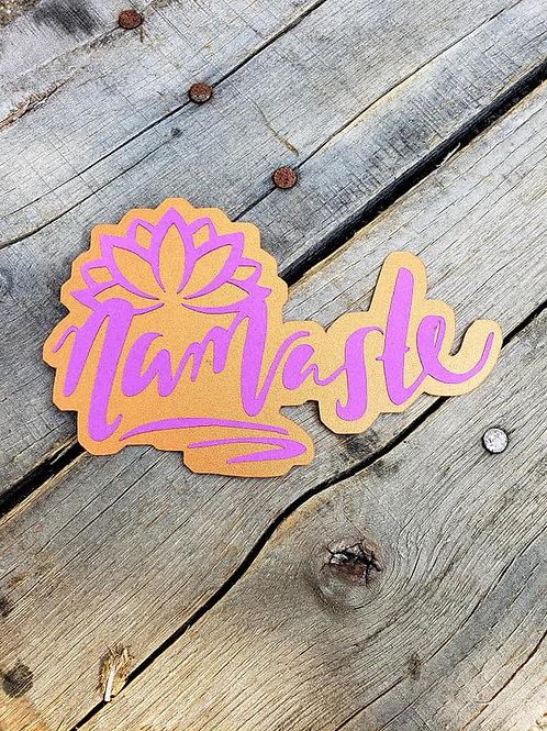 Namaste Paper Piecing Die Cut
