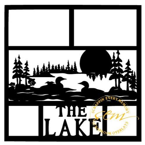 The Lake Scrapbook Overlay