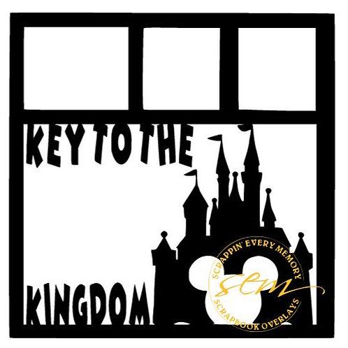 Key To The Kingdom Scrapbook Overlay