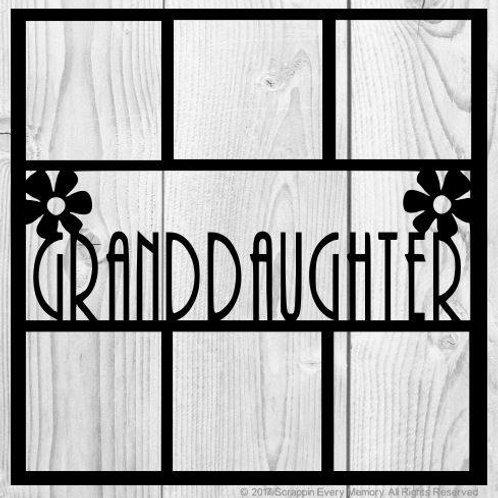 Granddaughter Scrapbook Overlay