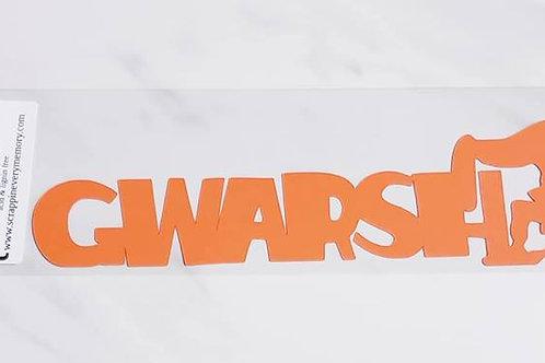 Gwarsh Scrapbook Deluxe Die Cut