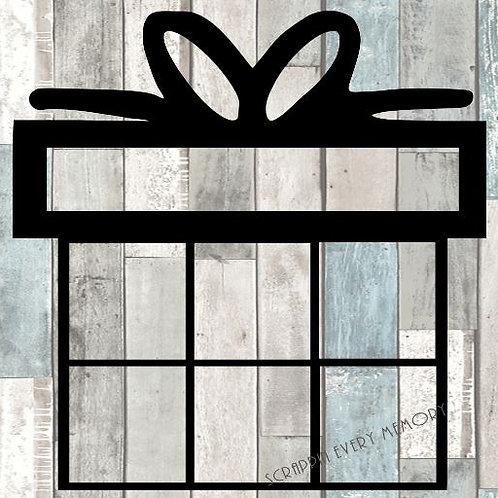 Present Scrapbook Overlay