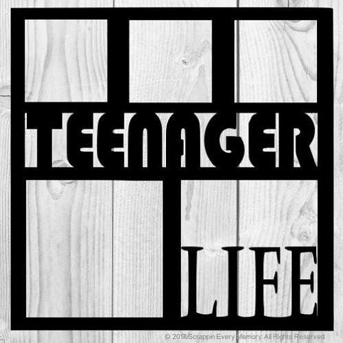 Teenager Life Scrapbook Overlay