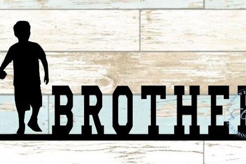 Brothers Scrapbook Border