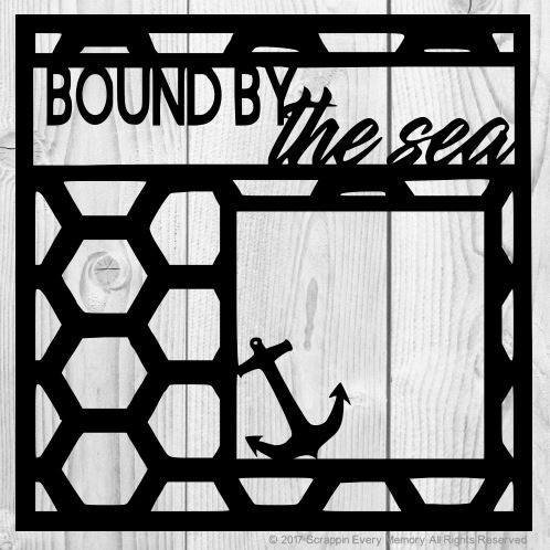 Bound By The Sea Scrapbook Overlay