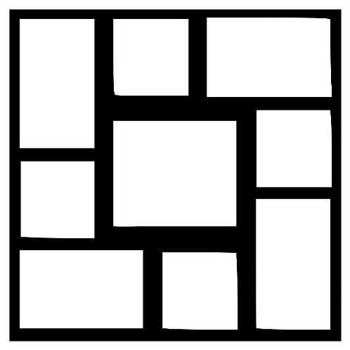 Frame 301 Scrapbook Overlay