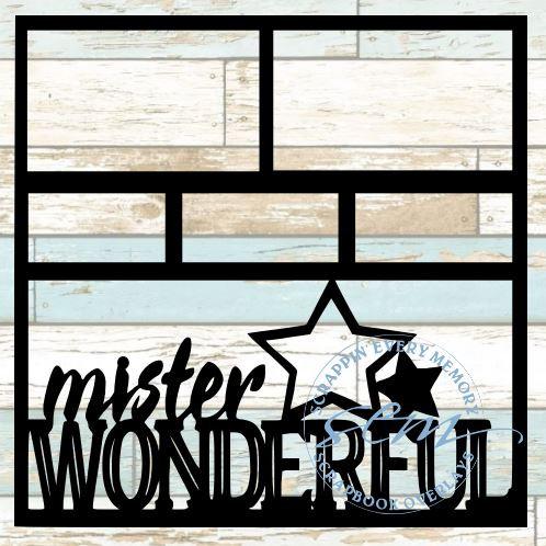 Mister Wonderful Scrapbook Overlay