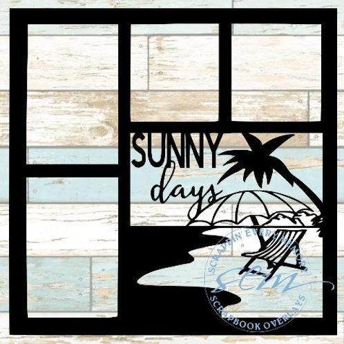Sunny Days Scrapbook Overlay