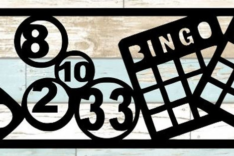Bingo Scrapbook Title