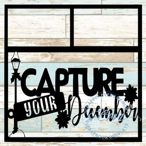Capture Your December Scrapbook Overlay
