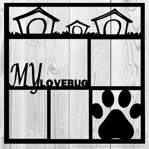 My Lovebug Scrapbook Overlay
