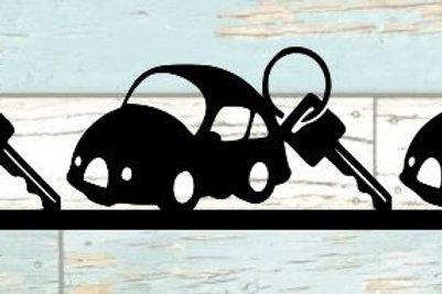 Car & Key Scrapbook Border