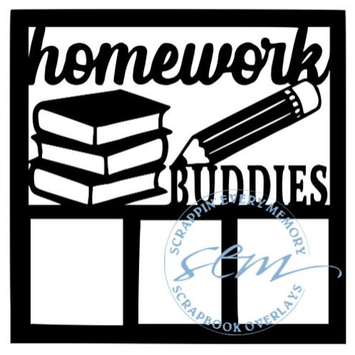 Homework Buddies Scrapbook Overlay