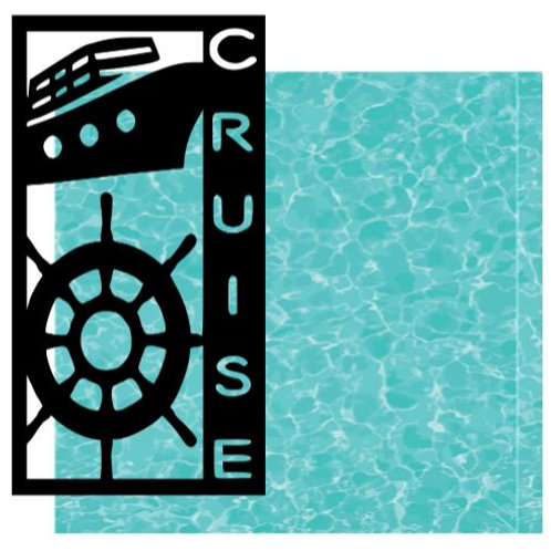 Cruise Vertical Scrapbook Title