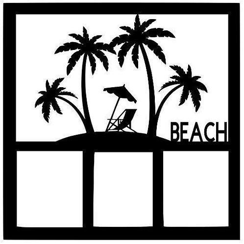 Beach Scrapbook Overlay