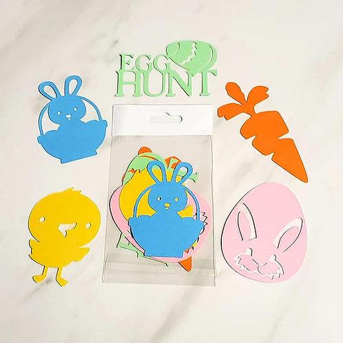 Easter Die Cut Silhouette Mini Set