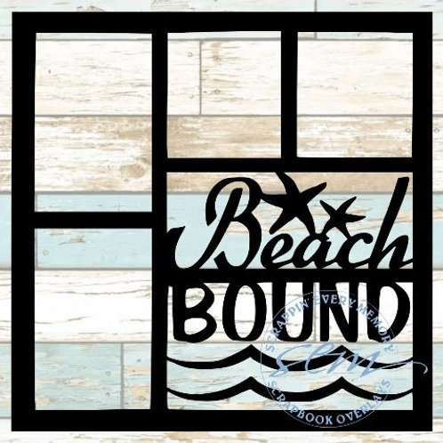 Beach Bound Scrapbook Overlay