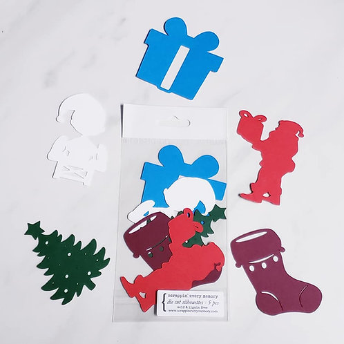 Christmas Die Cut Silhouette Mini Set